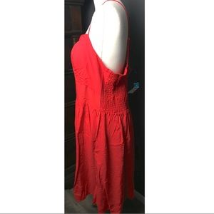 62f11fdd1b20a Rue21 Dresses - NWT Plus Size Red Built In Bra Swing Skater Dress